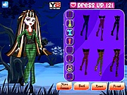Monster High dolls dress up makeover online j�t�k