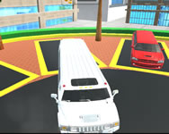 Big city limo car driving game új HTML5 játék