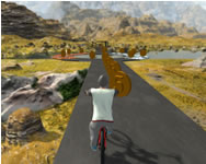 BMX rider impossible stunt racing bicycle stunt online